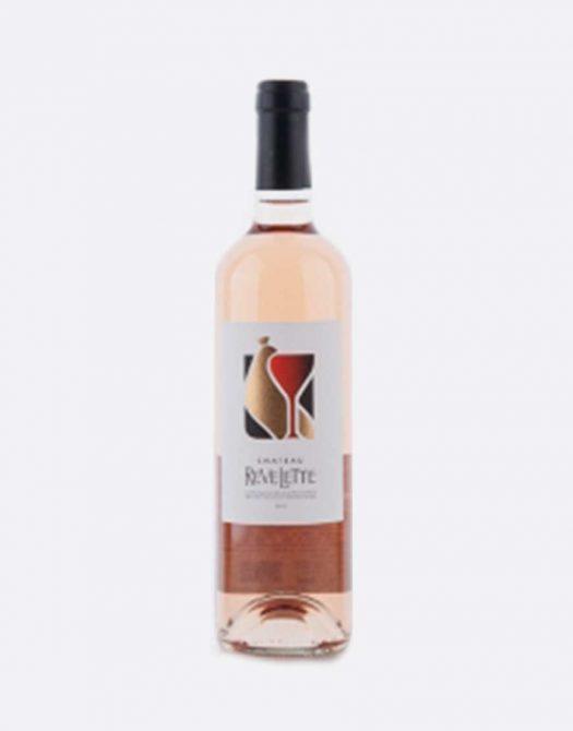 revellete rose 525x670 - Château Revelette, Rosé AOP 2018, Provence, Bio