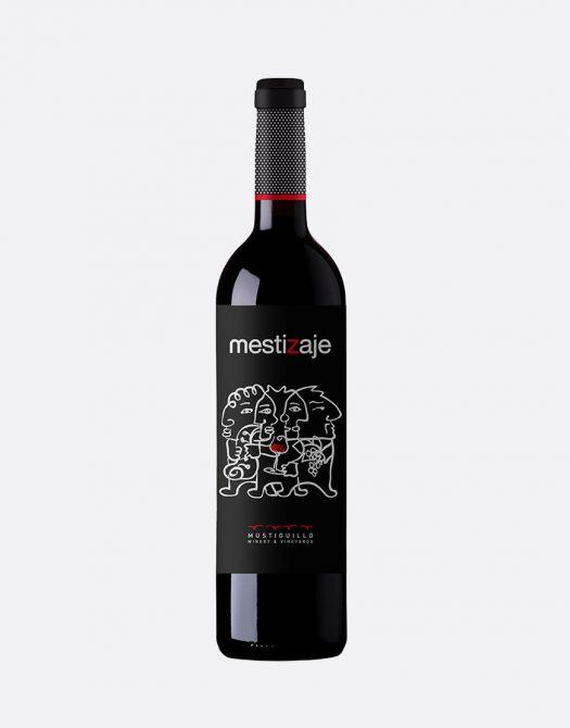 Bodega Mustiguillo Mestizaje 2016 Vino de Pago Bio 525x670 - Bodega Mustiguillo - Mestizaje 2016, Vino de Pago, Bio
