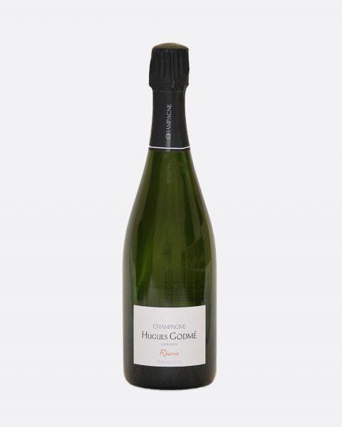 Hugues Godme Brut Reserve 1er Cru 480x600 - Hugues Godmé, Brut Reserve 1er Cru DEMI, Champagne, Bio