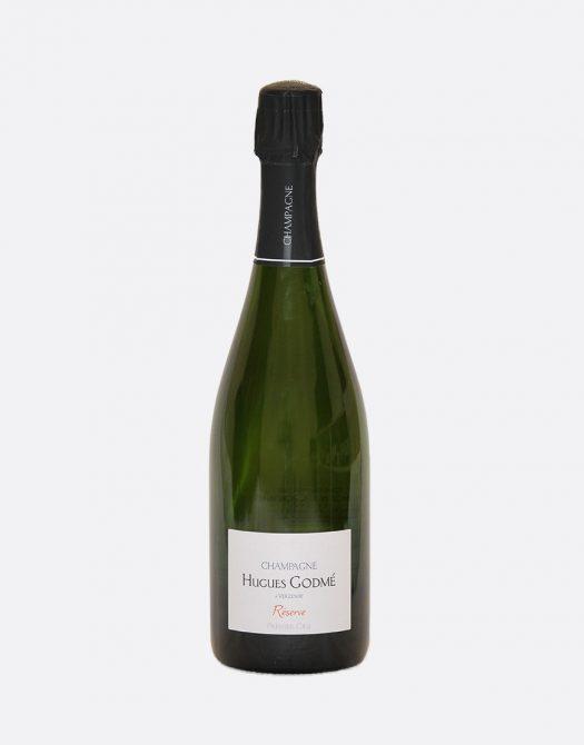 Hugues Godme Brut Reserve 1er Cru DEMI 525x670 - Hugues Godmé, Brut Reserve 1er Cru DEMI, Champagne, Bio