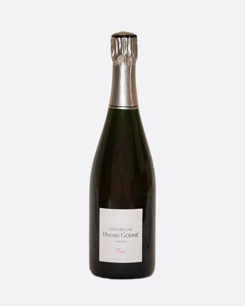 Hugues Godme Brut Rose Grand Cru 480x600 - Hugues Godmé, Brut Reserve 1er Cru DEMI, Champagne, Bio