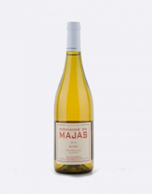 majas blanc 525x670 - Domaine de Majas, Majas Blanc 2019 IGP, Roussillon, Bio
