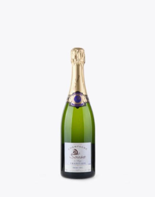 de sousa demi sec1 525x670 - De Sousa et Fils, Demi-Sec Tradition, Champagne, Bio