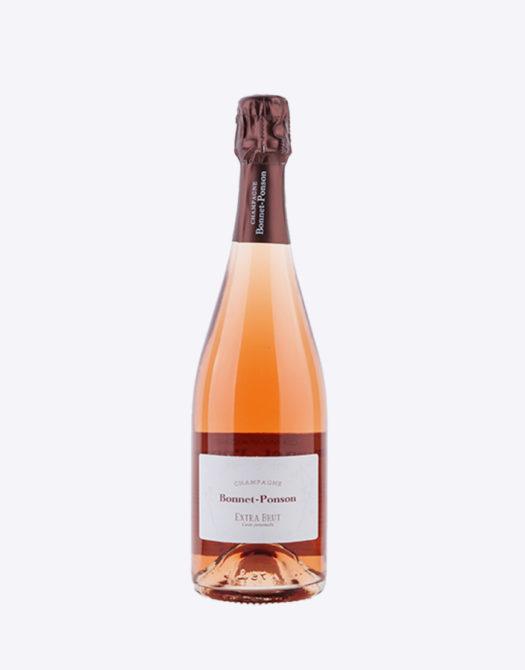 Bonnet Rose 525x670 - Champagne Bonnet-Ponson Cuvée perpétuelle Rosé, Extra Brut Premier Cru, Champagne, bio